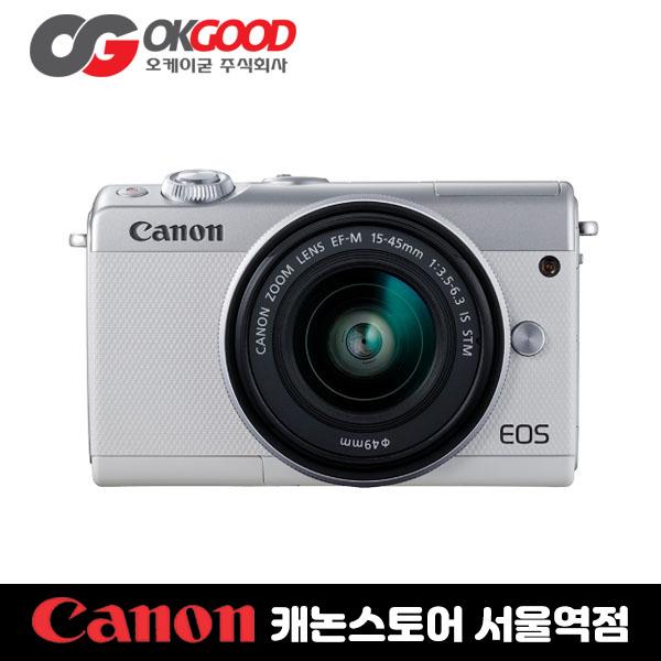 [캐논정품] EOS M100 KIT (15-45), 흰색
