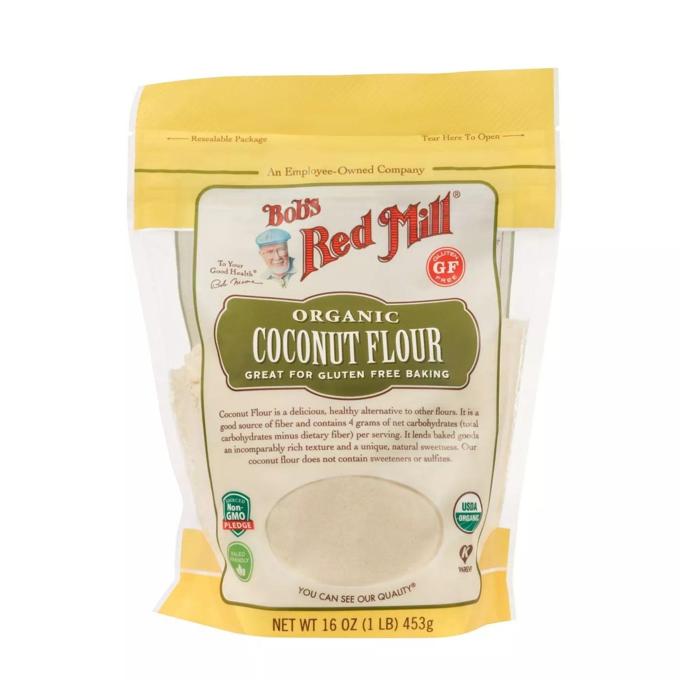 Bobs Red Mill 오가닉 코코넛 플라어, 453g, 1개