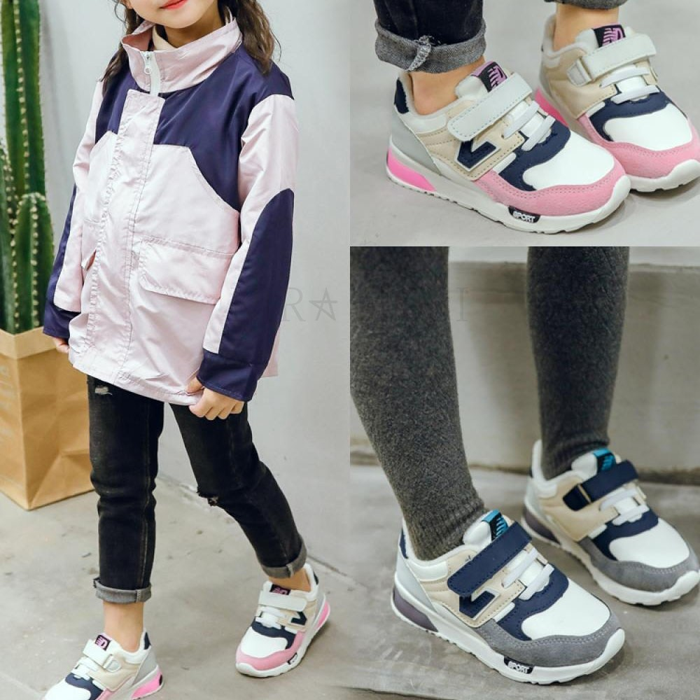 kirahosi 영유아 운동화 스니커즈 가벼운 신발 73 4i3js