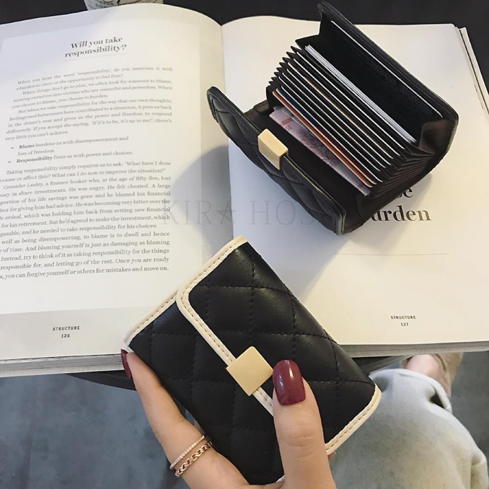 kirahosi 여성 카드지갑 가죽카드지갑 명품카드지갑 42호 + 덧신 증정 BD6pe0vg