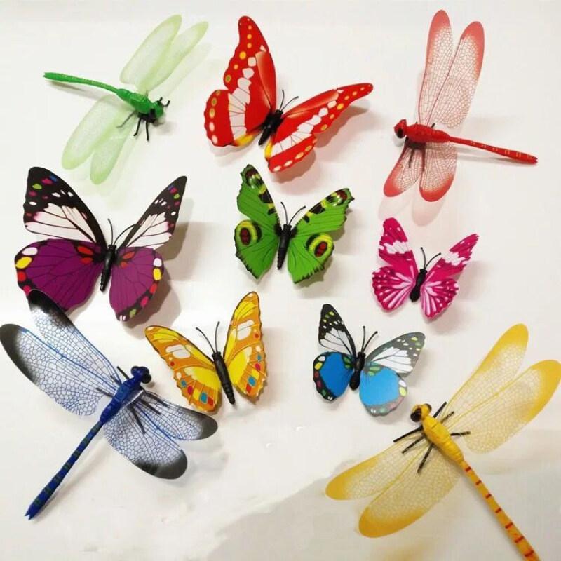 부품 나비 (색깔 랜 덤) + 빨 간 잠자리 50 세, 50952110438 (POP 5643585559)
