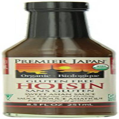 Premier Japan Sauce Hoisin Organic 8.5 Fl Oz 프리미어 재팬 소스 호 이신 유기농 251.4ml, 1