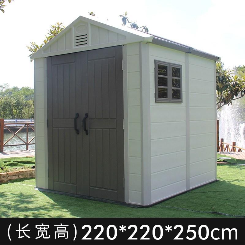 조립식주택 야외 창고 주택 이동식 조립 분리형 단순, 더블룸 깊이 2.2 너비 2.2 높이 2.5