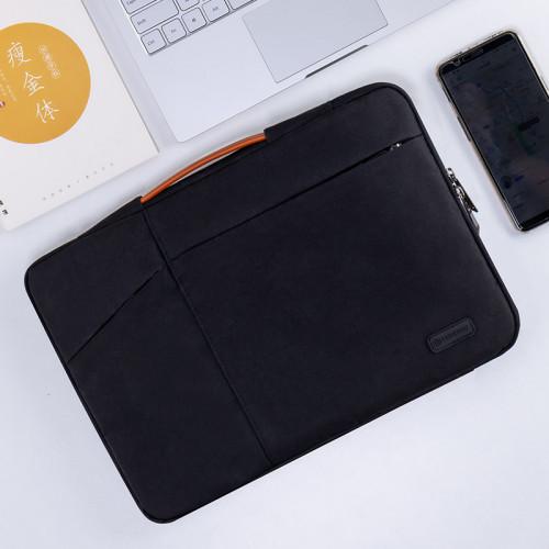 노트북 라이너 가방 레노버 15.6 인치 15 보호기 Y7000P Xiaoxin Air13 충격 방지 Pro13.3 보호 커버 14 가방 맥북 애플 맥 12 화웨이 ipad, 선택 = 14 인치 2 세대 휴대용 (검정색)