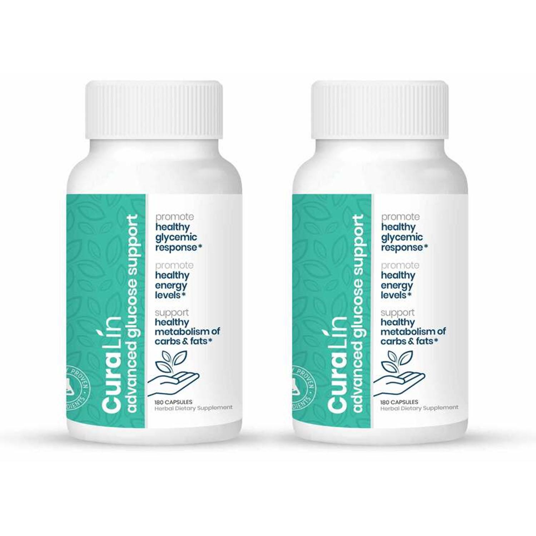 CuraLife CuraLin Type 당뇨 관리 영양제 180캡슐
