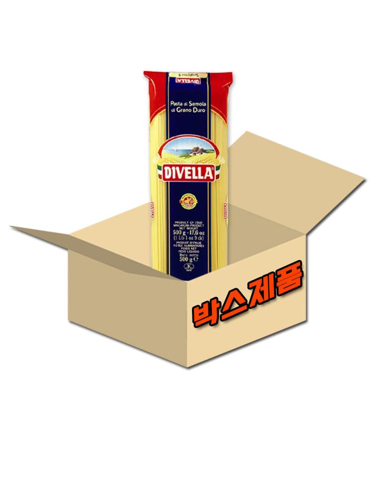 디벨라 스파게티니 9호 박스 (500g x 24개입), 500g, 1박스