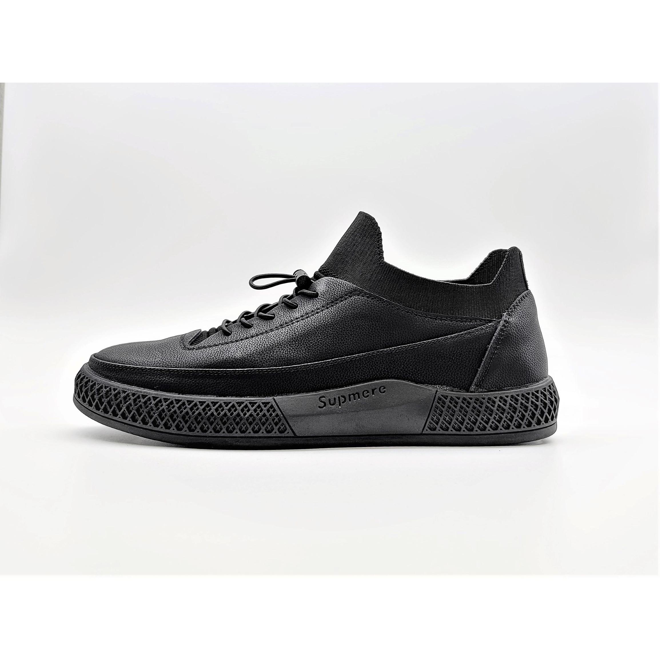 Three 캐주얼 가죽 남성 신발