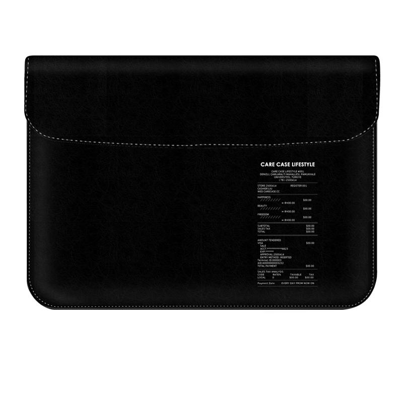 맥북프로16인치 파우치 케이스 어댑터 세트, 블랙