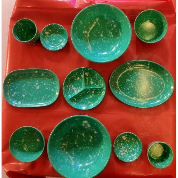 홈포차 감성 인테리어 소품 베란다포차 용품 분식 떡볶이 짜장면 그릇 레트로 접시 포장마차 실내꾸미기 감성주점, 1인세트