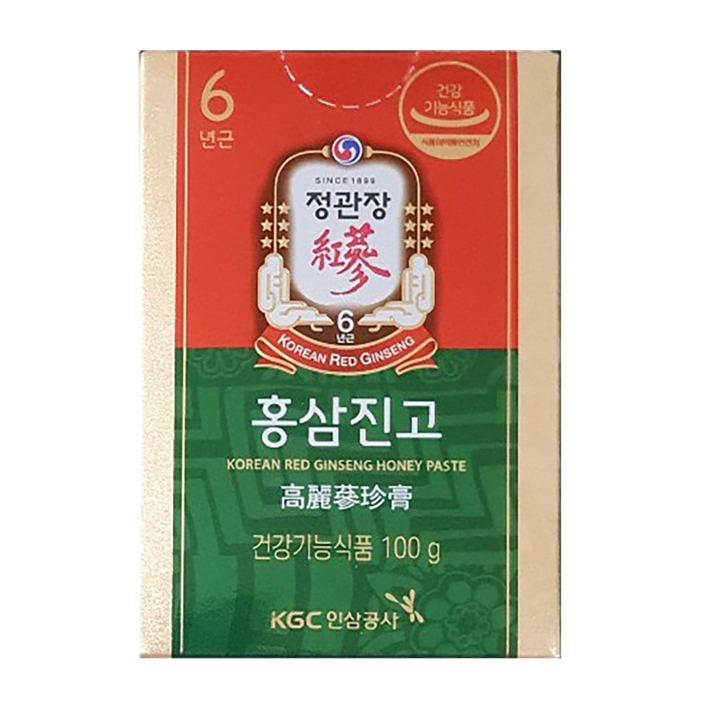 정관장 홍삼진고 100g, 2병, 상세 설명 참조
