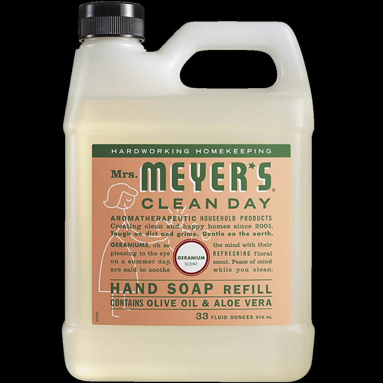 Mrs. Meyers Clean Day 리퀴드 핸드 솝 리필, 975ml, 1개-7-2227754