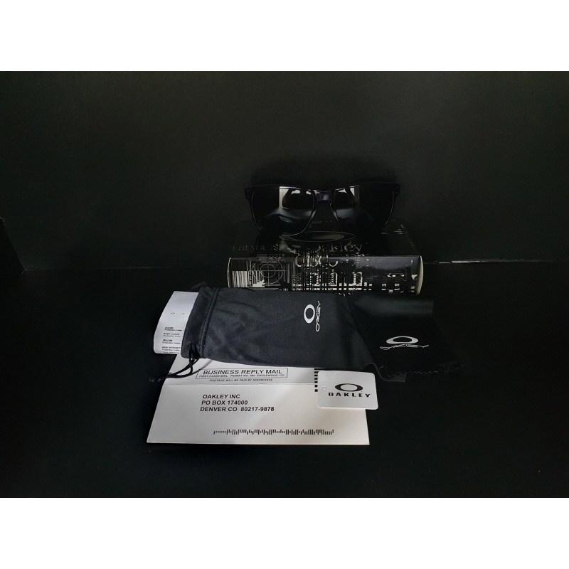 보하라 오클리/홀브룩/미러글라스/선글라스/풀박스/새제품, 바이올렛/블랙로고