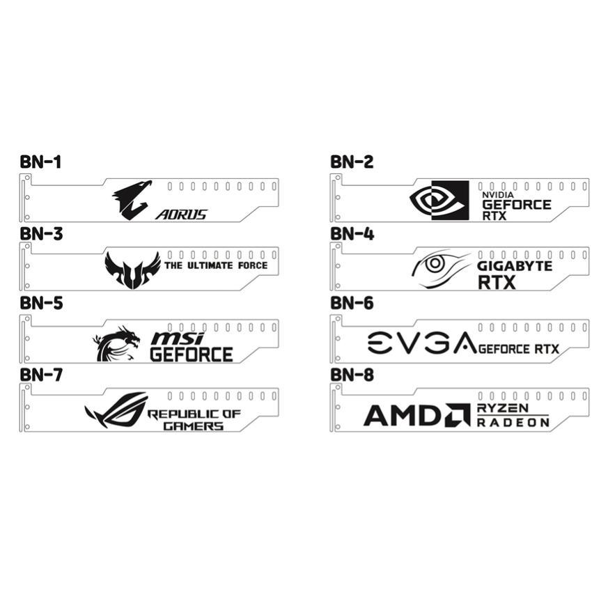 그래픽카드 지지대 RGB LED(B), BN-7(5V 하단)