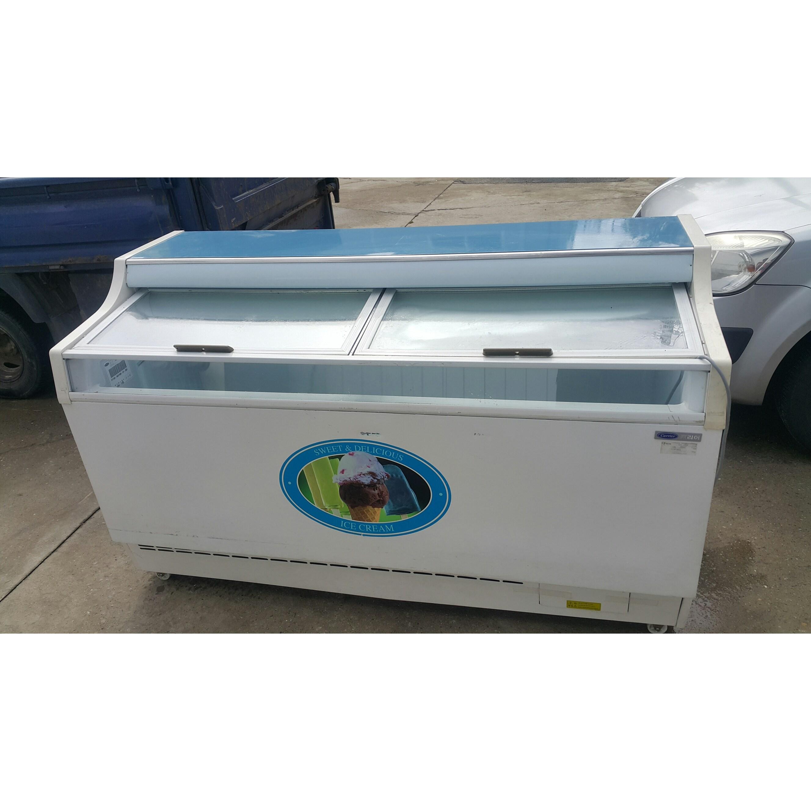 중고 캐리어 아이스크림냉동고 대형(가로1600) CSS-451FD (POP 2036352385)