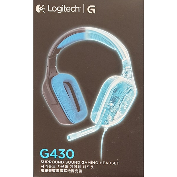 로지텍 게이밍 헤드셋 G430 블랙