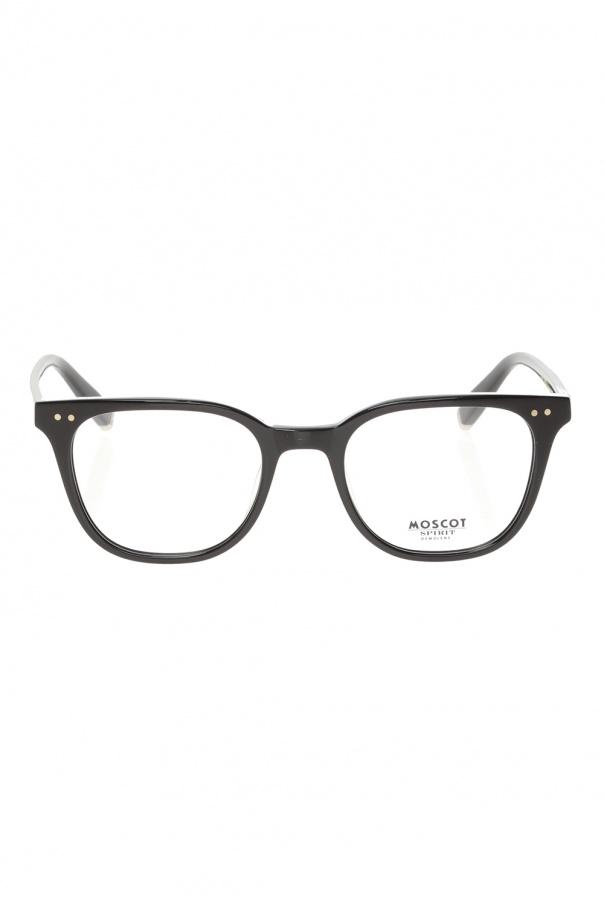 Moscot 'Loren' corrective eyeglasses LOREN 0-0200-01 BLACK 150불 이상 주문시 부가세 별도