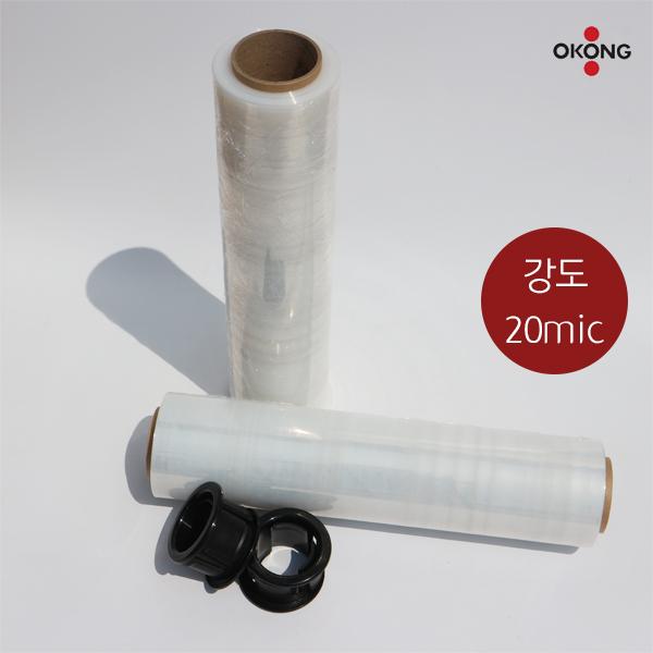 오공 스트레치필름 공업용랩 포장랩 1개 낱개