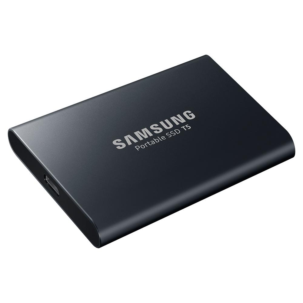 삼성전자 포터블 외장SSD T5 2TB, 블랙 (POP 110786448)