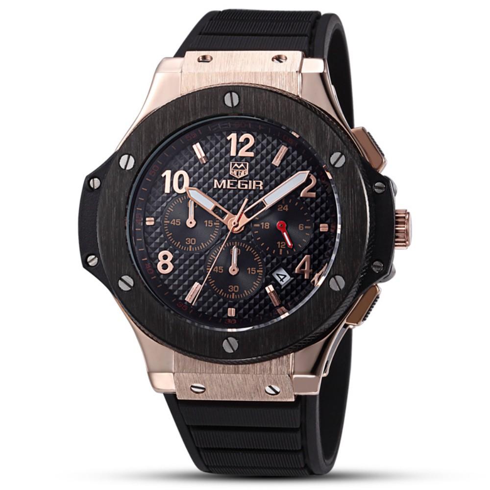 위블로 스타일 시계 가성비 손목 시계 megir 알큰시계