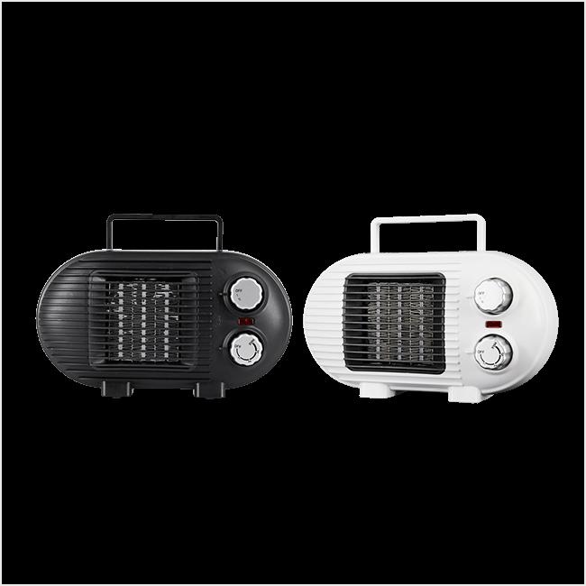 TOOLCON PTC팬히터 저전력 500w 800W TP800D, 블랙(검정색)