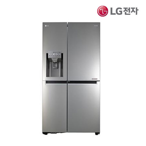 [LG전자] LG 얼음정수기 양문형냉장고 J612SS34 607L, 상세 설명 참조
