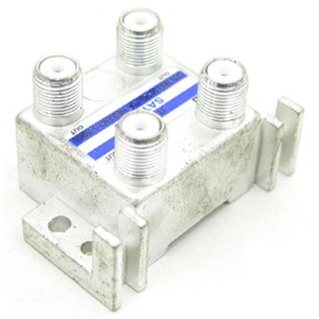 ksw12300 RF 분배기3:1 sj490 (CATV용)/젠더/커넥터/D-Sub, 1, 본 상품 선택