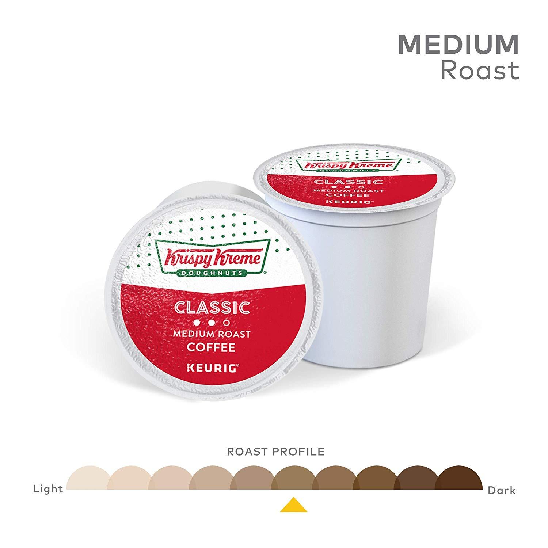 크리스피도넛 클래식 미디움로스트 커피캡슐 12팩, 단일상품