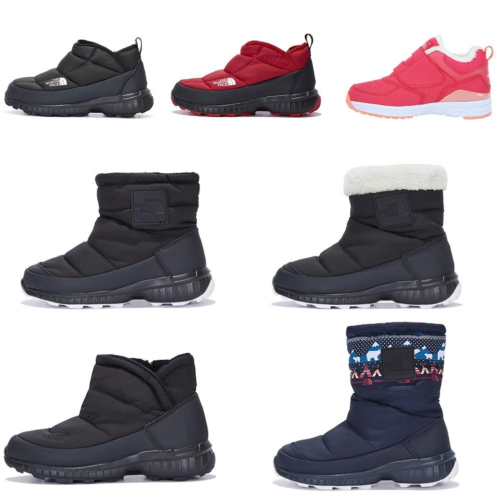 노스페이스 키즈 부츠 방한화 운동화 신발