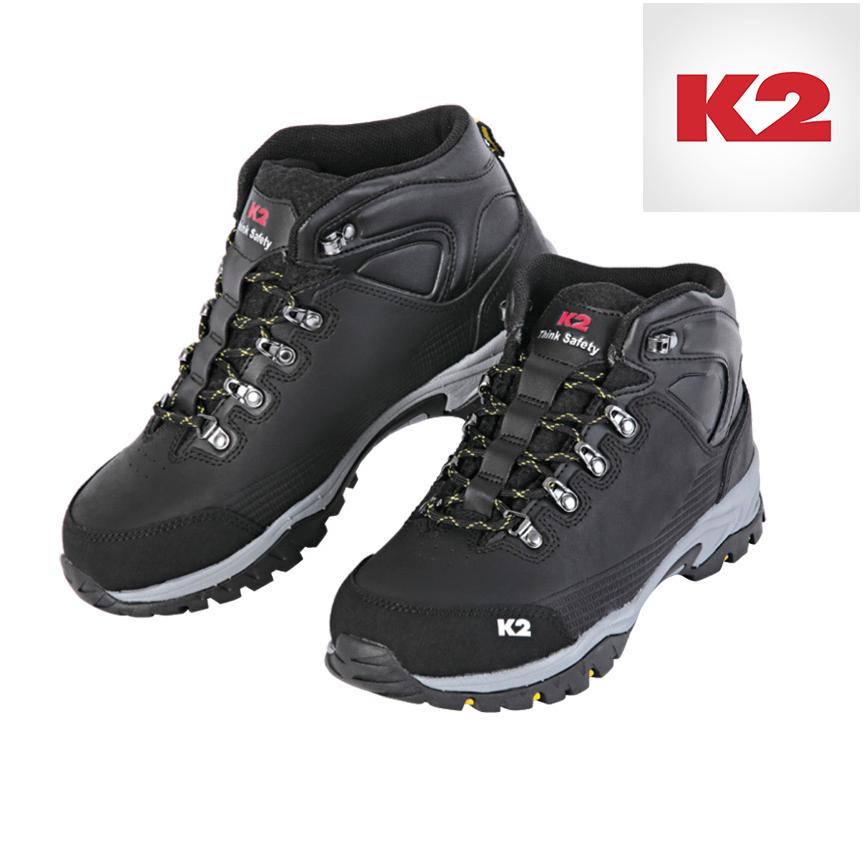 K2 남여공용 가죽제 등산화 트레킹화 K2-STOM