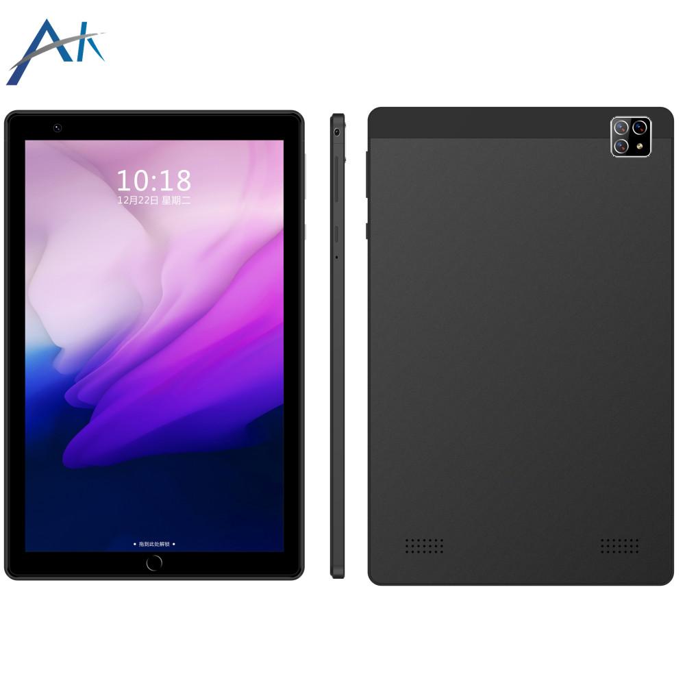 아카소 2021년 8 인치 Wi-Fi (확장 128G) 멀티미디어 태블릿 PC, 검정, T8