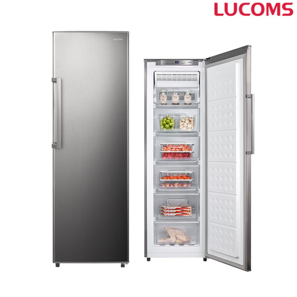 루컴즈 (지정일 배송문의) 188L 스탠드형 냉동고 R188K04 S 간접냉각방식 (POP 1365042187)