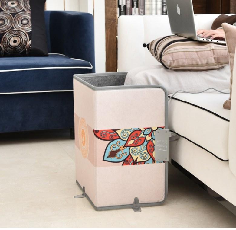 사무실 발난로 전기 히터 발온열기 가정용 수족냉증, B