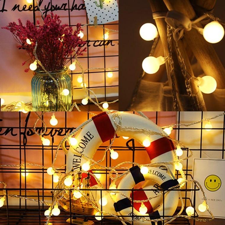 갬성 홈캠핑 LED 앵두전구 20구 3m (USB타입) 크리스마스 전구, 상세페이지 참조