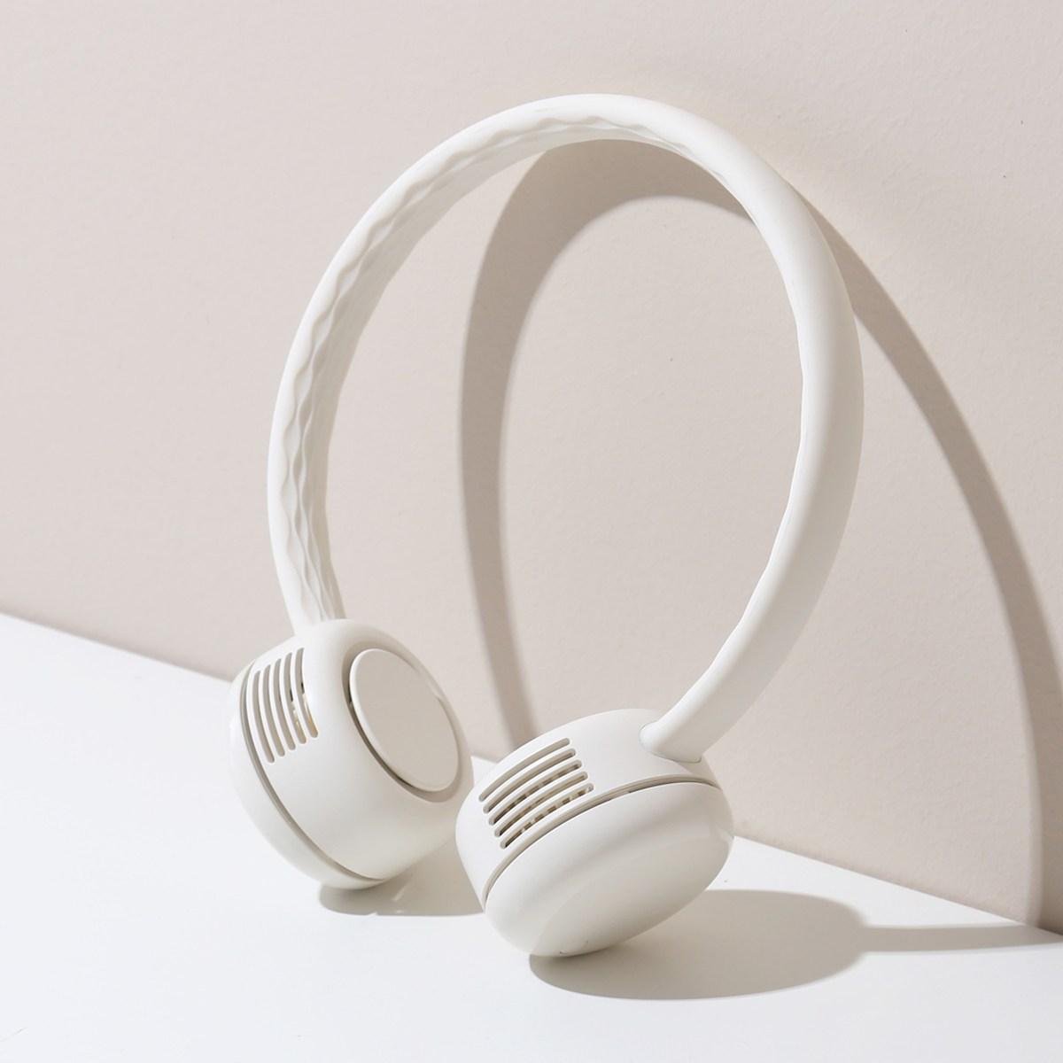단순생활 넥밴드 휴대용 선풍기, 옵션선택, 04 클래식블루