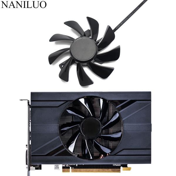 T129215SU RX 570 470D GPU 쿨러 비디오 카드 팬 Radeon sapphire RX470D RX570 ITX 그래픽 카드 냉각 시스, 한개옵션0