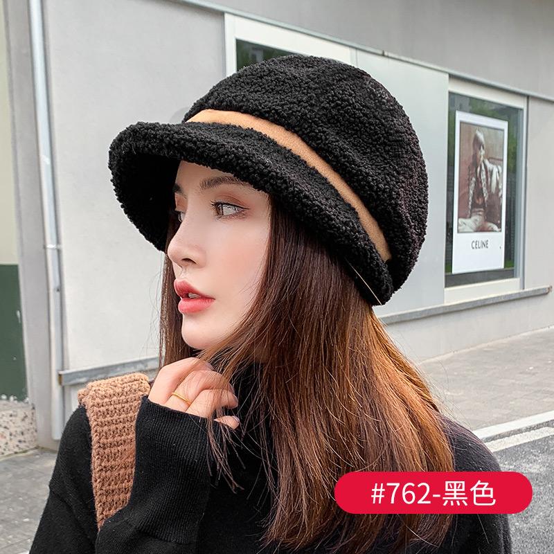 여성 버킷햇 양털 가을 겨울 빵모자 여자 벙거지 모자 여성
