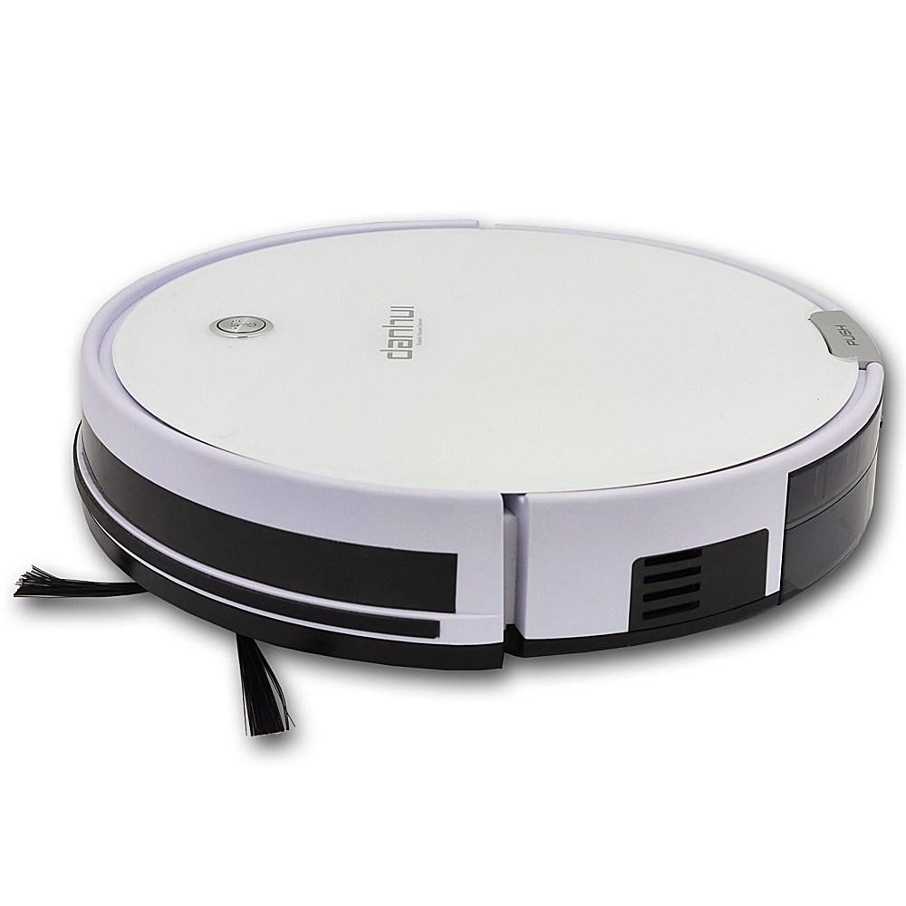 단후이 로봇청소기 자동청소기 흡입+걸레/업그레이드최신버전, 단후이 로봇청소기 화이트+LCD탁상시계