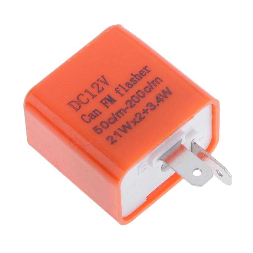 JC 오토바이 LED 표시 등 오렌지 용 12V 방향 지시등 노출증 범용
