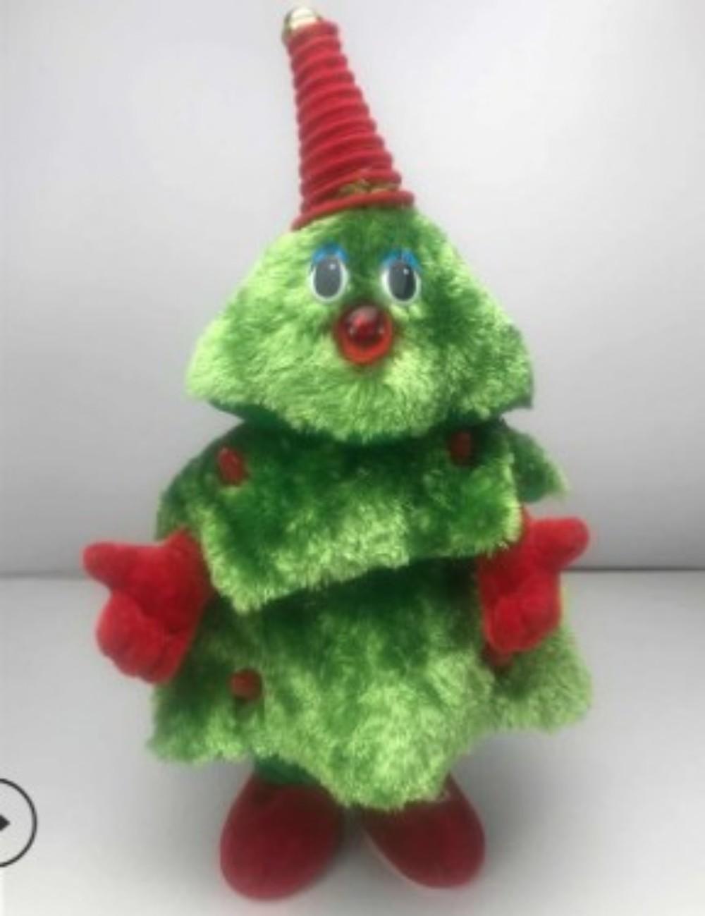 크리스마스 아이템 춤추는 산타 트리 눈사람 루돌프 인형 선물, 크리스마스 트리