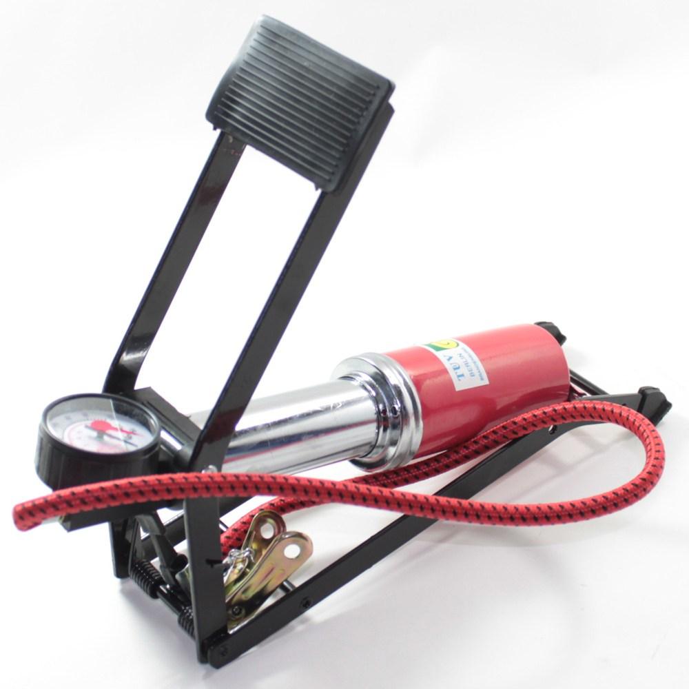 [싱글펌프] 초강력 에어펌프 볼펌프 자전거펌프 휴대용펌프 자전거공기주입기 공기주입기 발펌프 튜브펌프 자전거 펌프 (싱글펌프)