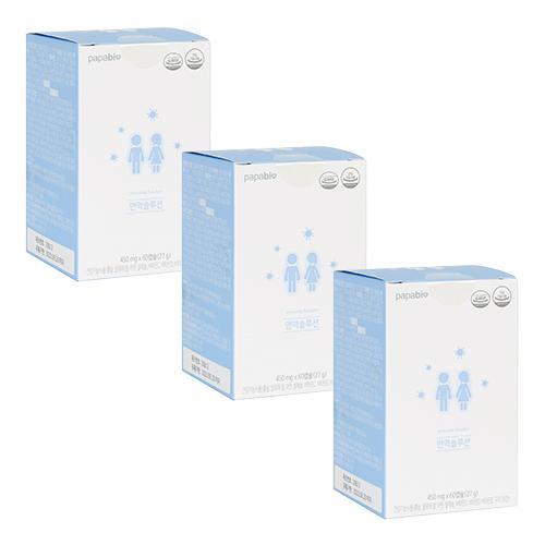 홍삼 알로에 면역력영양제 면역솔루션 종합비타민 셀레늄 미네랄 450mg X 60캡슐, 3박스(3개월분)