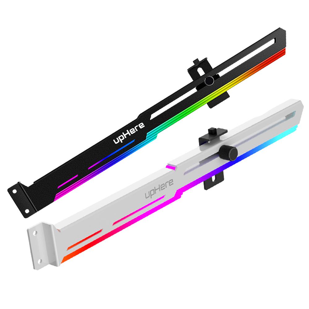 UpHere 그래픽카드지지대 5V ARGB, 블랙(AUTO RGB)