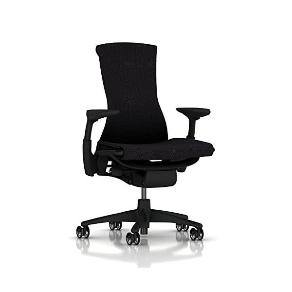 Herman Miller Embody Chair Twilight Rhythm, Black Balance