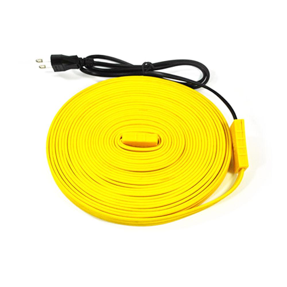 노란열선 수도 동파 방지 실리콘 열선 히타 센서 일반형 센서형, 11.센서형_5m