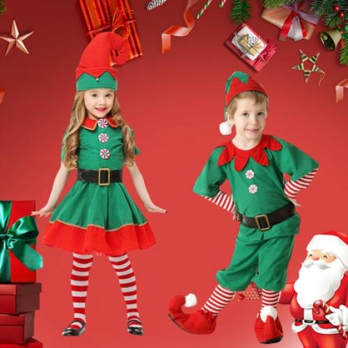 YAHOO 할로윈데이 아동 의상 아동복 여아 크리스마스 요정 공연복 어린이집