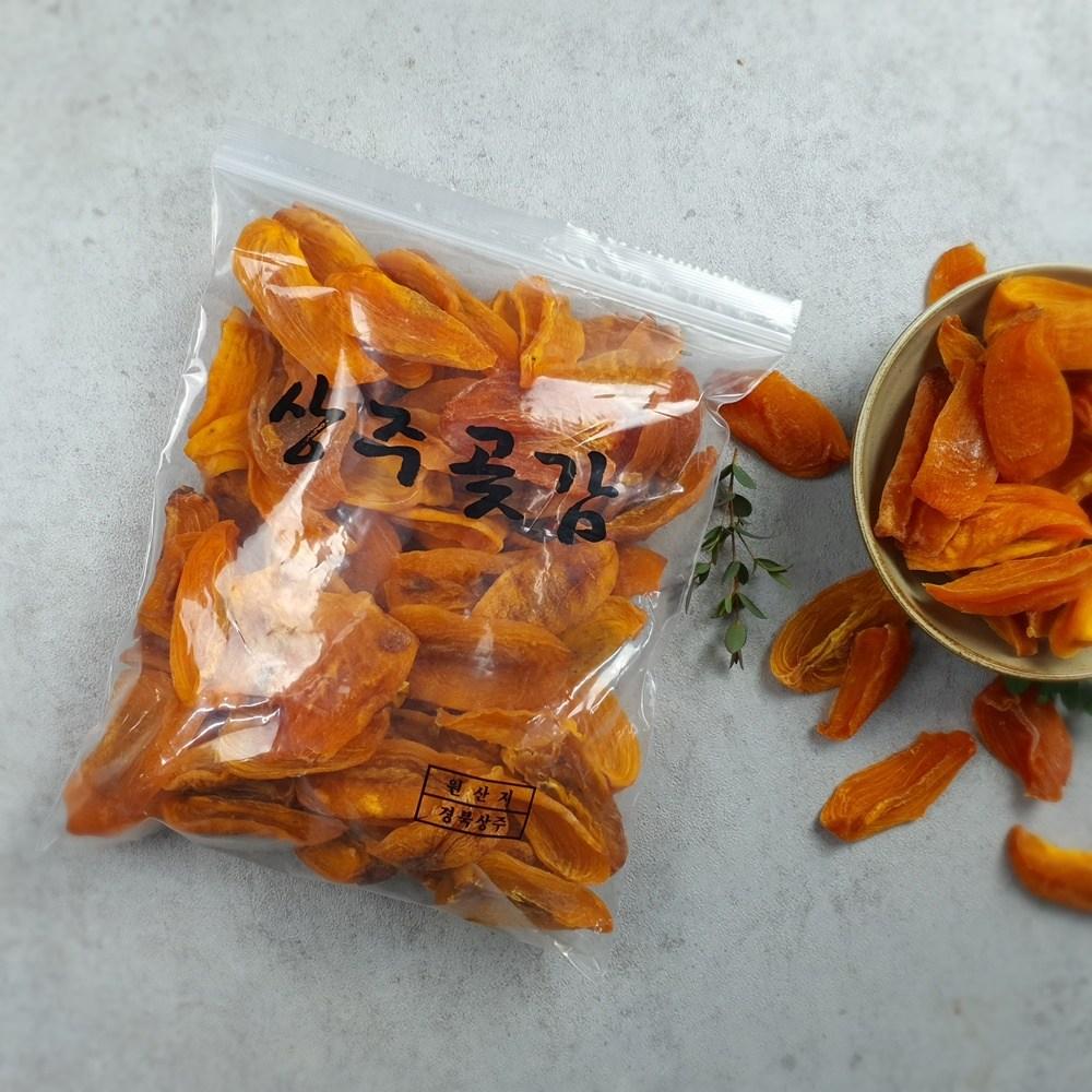 순우리팜 상주꿀감말랭이400g 800g 가정용 실속형 지퍼백포장, 1개, 400g
