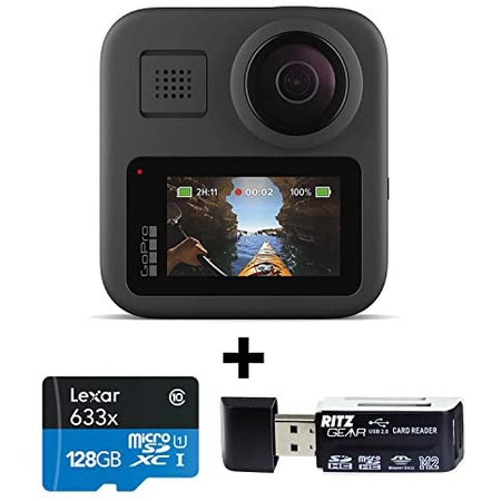 GoPro MAX #8212; Waterproof 360 + Traditional Camera with Touch Screen Spherical 5.6K30 HD Video 16, 상세 설명 참조0
