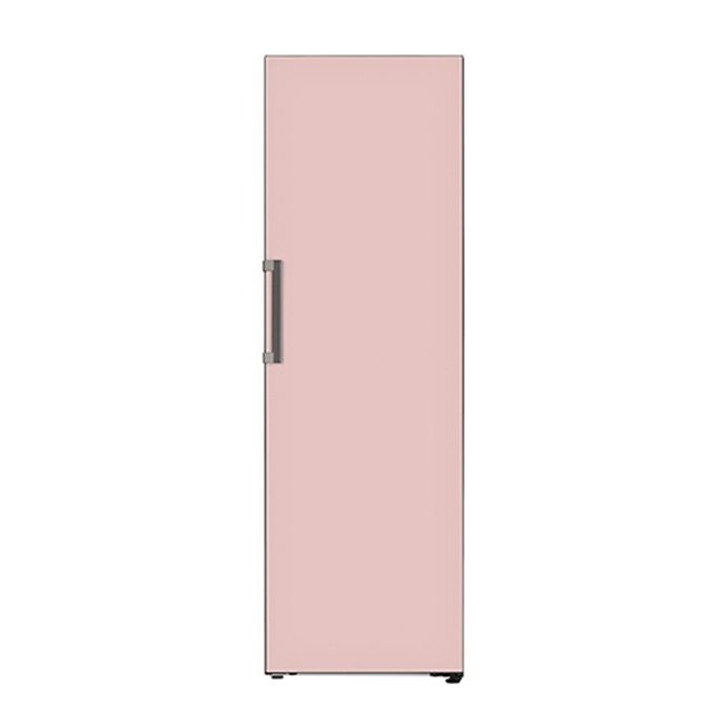 LG전자 오브제컬렉션 X320GPS 컨버터블 냉장고 1등급 미스트 글라스 핑크, 연결안함 (POP 2360051193)
