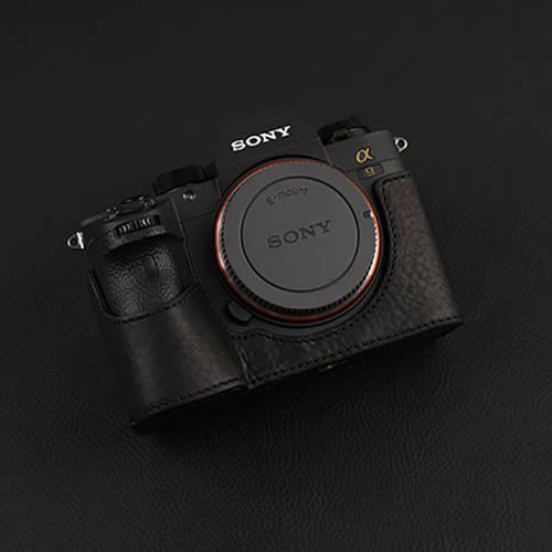 소니 A7R4 A7RM4 가죽 케이스 소니 A9 A7RM3 A7M3 A7R3 카메라 가죽 케이스 카메라, 상세내용참조