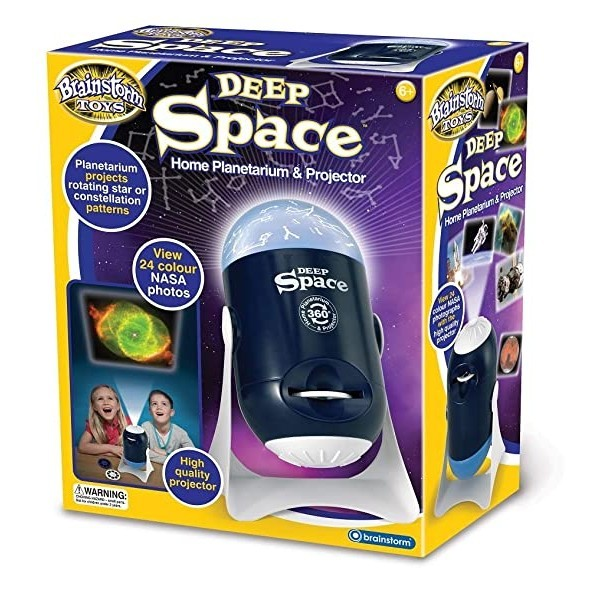 Brainstorm Toys Deep Space Home Planetarium and Projector by Brainstorm (English Manual), ohne Batterien